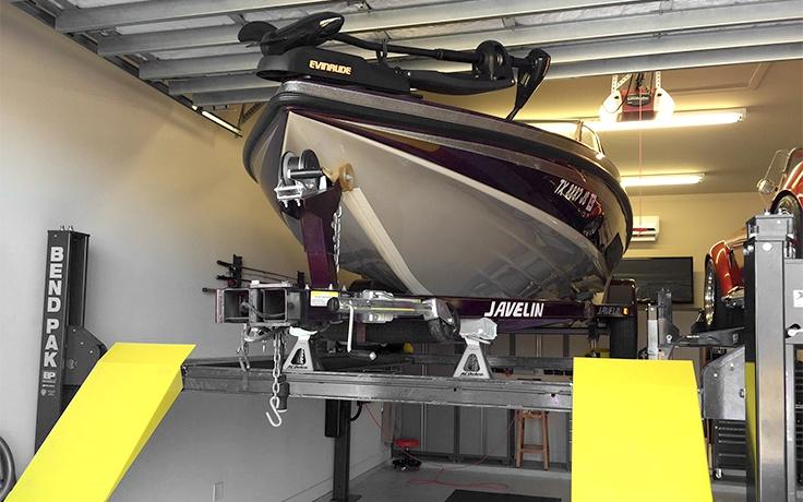 HD-9ST Four-Post Lift - Narrow - 4,082-kg  Capacity - BendPak