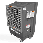 The CB-30L Cool Boss provides a low-cost and friendly way to keep shops cool.