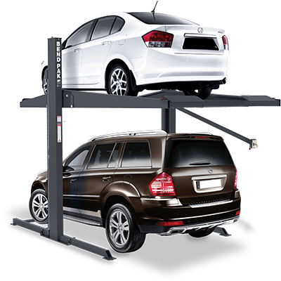 PL-7000XR Two-Post Parking Lift by BendPak