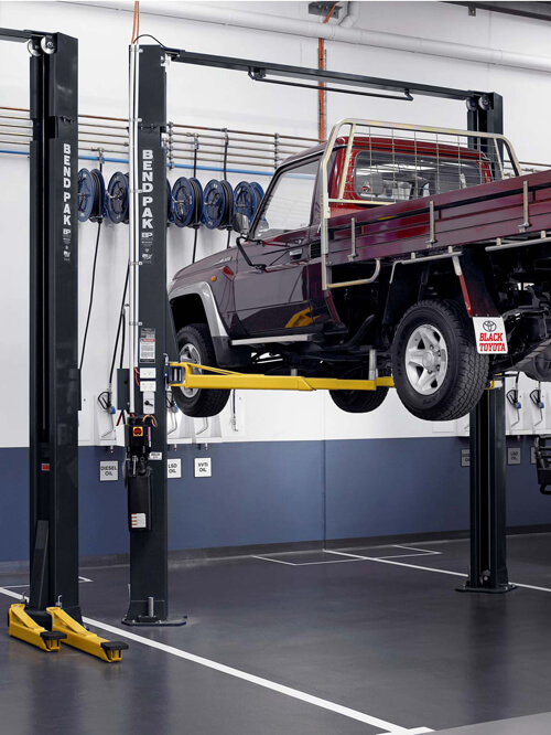 Truck Two-Post Hoist