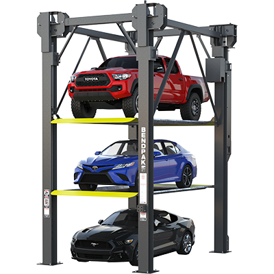 PL-14000 6,350-kg. Capacity / 3-Level Parking Lift / Multiple Heights / SPECIAL ORDER