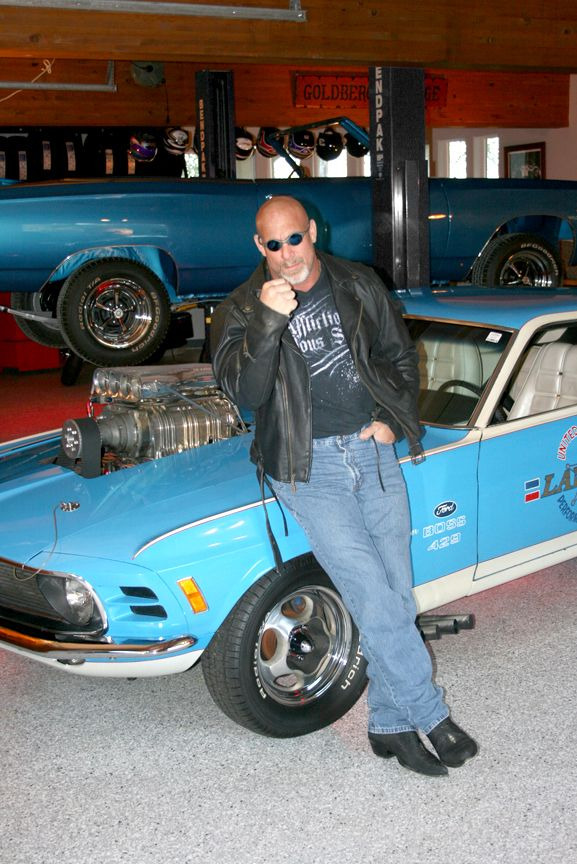 Bill Goldberg 1970 Mustang Boss 429 Lawman