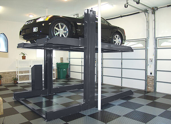 Two-Post Parking Hoist Home Garage