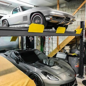 Corvette C2 C7 Double Wide Four Post Hoist BendPak