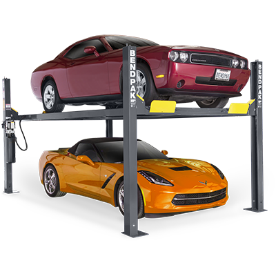 HD-9 Series 4,082-kg. Capacity / Four-Post Parking Lift