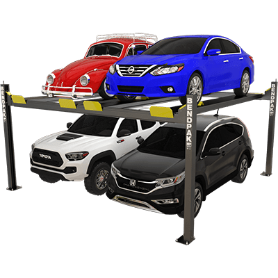 HD-9SW 4,082-kg. Capacity / Super-Wide Car Stacker Parking Lift