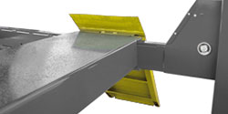 Four-Post Hoist Runway Ramps Wheel Chocks