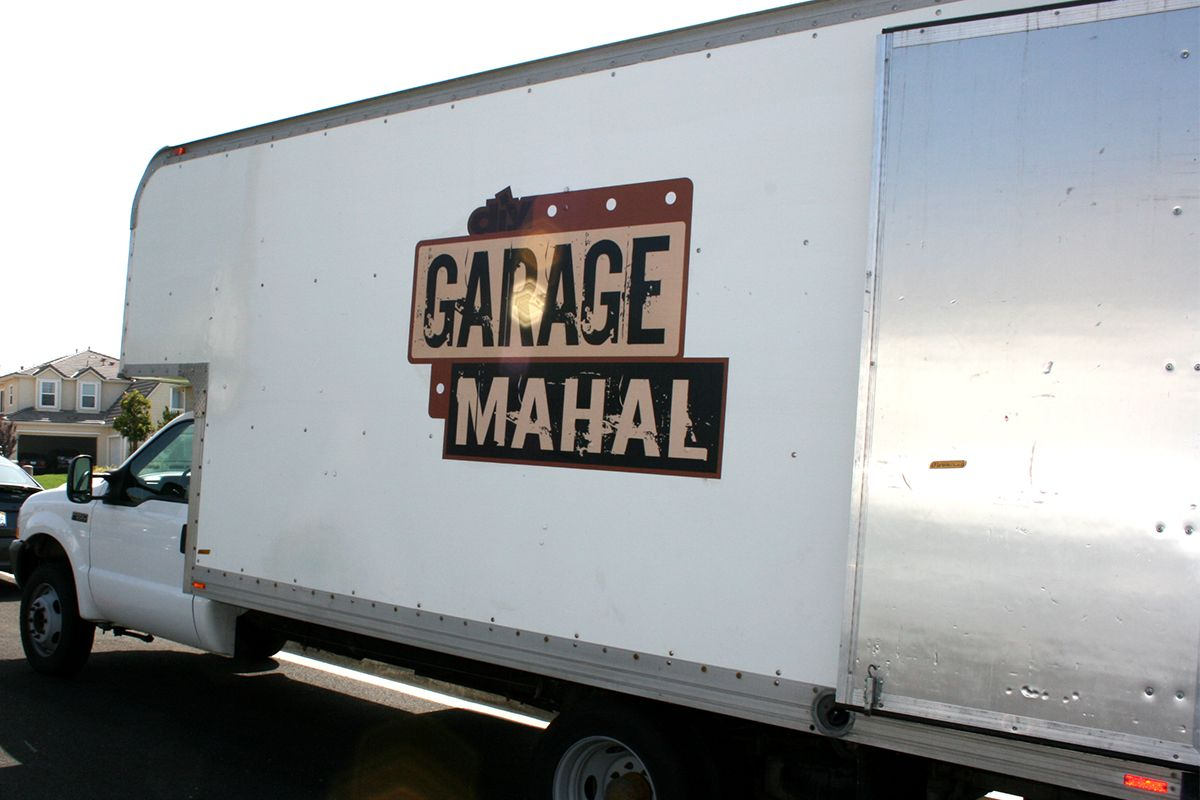 Garage Mahal TV Show Truck