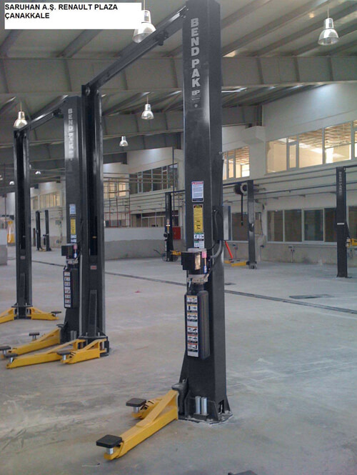 Two-Post Hoists for Dealerships