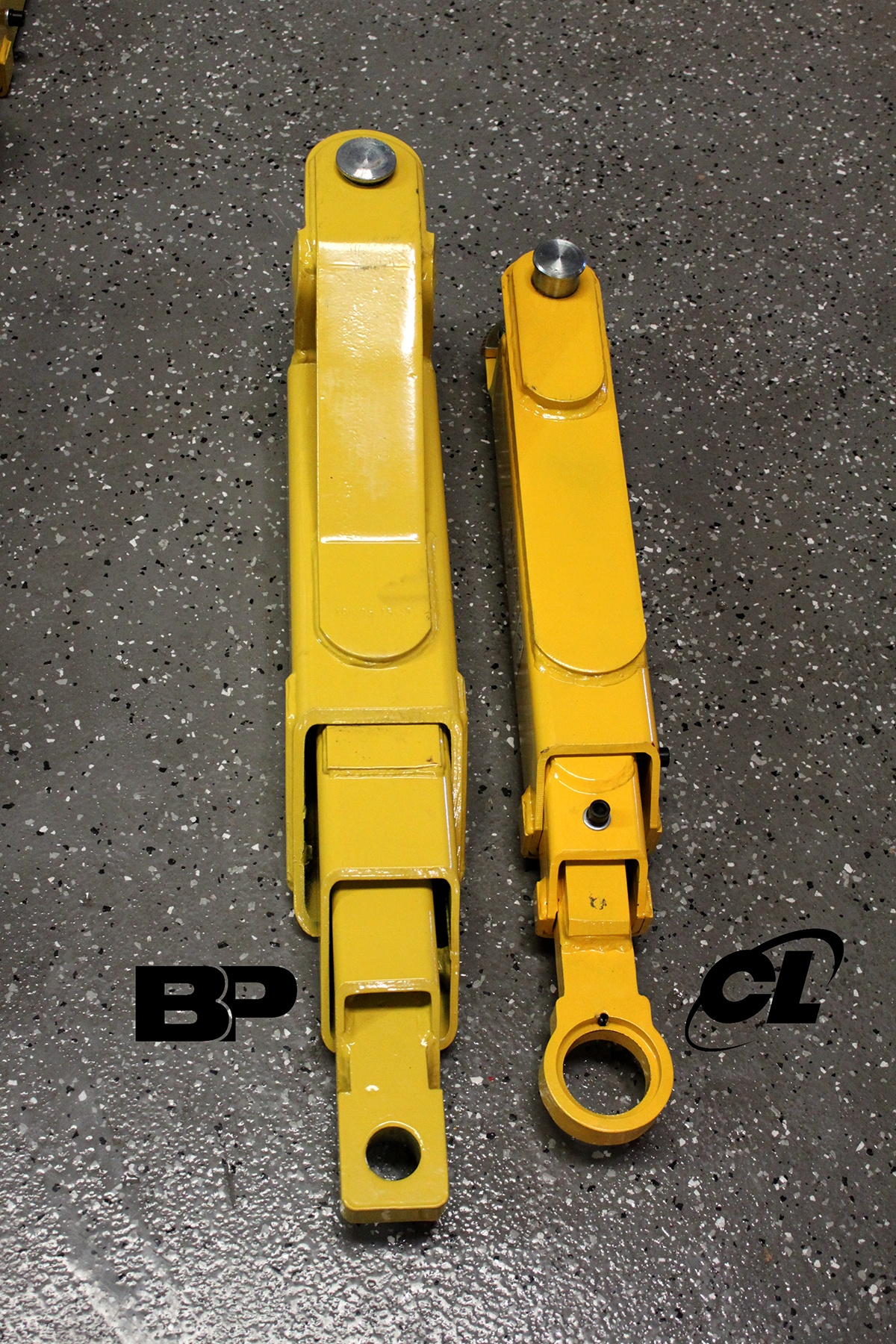 BendPak 2-Post Lifting Arms Compared to Challenger