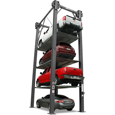 PL-18000 8,165-kg. Capacity / 4-Level Parking Lift / Commercial Parking / SPECIAL ORDER