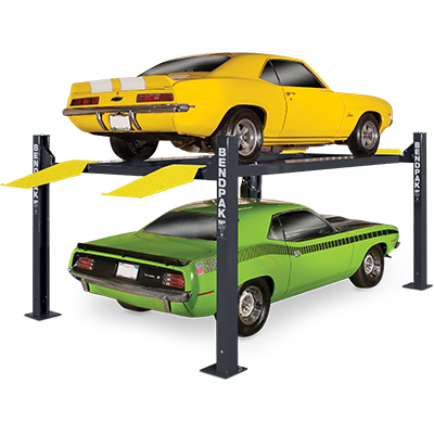 HD-9XL 4,082-kg. Capacity / Four-Post Parking Lift / Extended Length