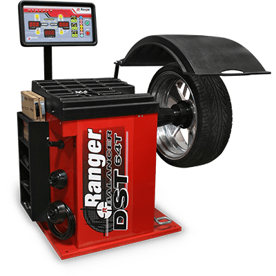 DST-64T Wheel Balancer / 3D Quick-Touch™ DataWand™/ 36 mm Shaft