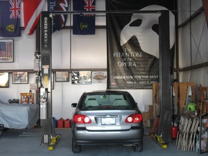 Two Post Hoist Automotive Garage BendPak