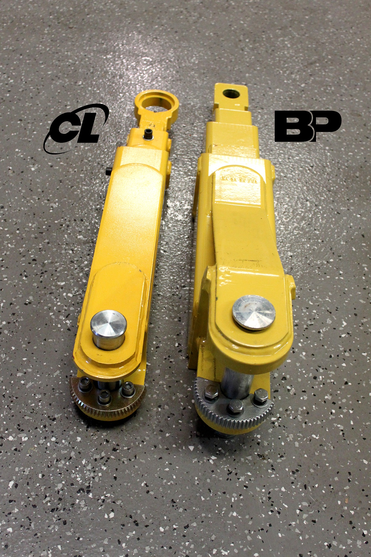 Lifting Arm Pin Two-Post Hoists BendPak vs. Challenger